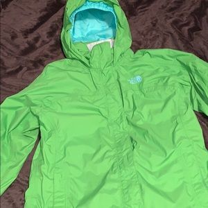 Girls 14/16 NorthFace raincoat
